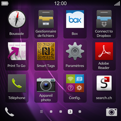 BlackBerry Q10 - E-mail - Configuration manuelle - Étape 3