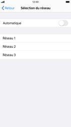 Apple iPhone SE (2020) - Réseau - Sélection manuelle du réseau - Étape 6