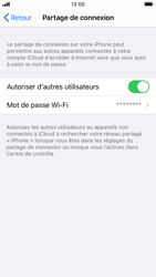 Apple iPhone SE (2020) - iOS 14 - WiFi - Comment activer un point d'accès WiFi - Étape 8