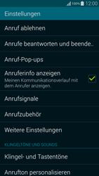 Samsung Galaxy Alpha - Anrufe - Rufumleitungen setzen und löschen - 5 / 11