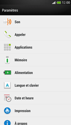 HTC One Mini - Applications - Comment désinstaller une application - Étape 4