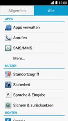 Huawei Ascend Y530 - Anrufe - Rufumleitungen setzen und löschen - 4 / 9
