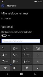Microsoft Lumia 950 - Voicemail - handmatig instellen - Stap 8