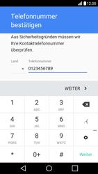 LG H850 G5 - Apps - Konto anlegen und einrichten - Schritt 7