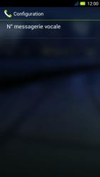 Acer Liquid E3 - Messagerie vocale - Configuration manuelle - Étape 11