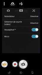 Sony Xpéria M2 - Photos, vidéos, musique - Créer une vidéo - Étape 7