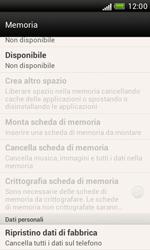 HTC Desire X - Dispositivo - Ripristino delle impostazioni originali - Fase 7