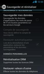 Bouygues Telecom Bs 402 - Aller plus loin - Restaurer les paramètres d'usines - Étape 5