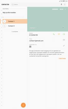 Samsung Galaxy Tab A 10.1 - Android Nougat - Contacten en data - Contacten kopiëren van toestel naar SIM - Stap 4