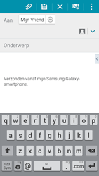 Samsung G850F Galaxy Alpha - E-mail - E-mails verzenden - Stap 8