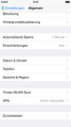 Apple iPhone 6 iOS 8 - Fehlerbehebung - Handy zurücksetzen - Schritt 6