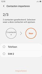 Samsung galaxy-xcover-4s-dual-sim-sm-g398fn - Contacten en data - Contacten kopiëren van SIM naar toestel - Stap 11