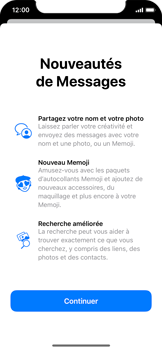 Apple iPhone 11 Pro - Contact, Appels, SMS/MMS - Envoyer un SMS - Étape 3