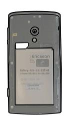 Sony Ericsson Xperia X10 - SIM-Karte - Einlegen - Schritt 5
