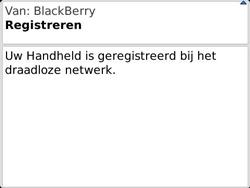 BlackBerry 9360 Curve - Instellingen - configuratiebericht ontvangen - Stap 11