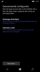 Microsoft Lumia 650 - E-mail - e-mail instellen: POP3 - Stap 8