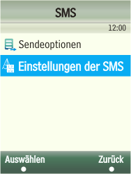 Samsung TouchWiz - SMS - Manuelle Konfiguration - 6 / 13