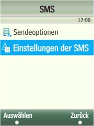 Samsung F480-TouchWiz - SMS - Manuelle Konfiguration - Schritt 6