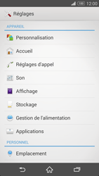 Sony Xperia Z3 - Applications - Comment désinstaller une application - Étape 4