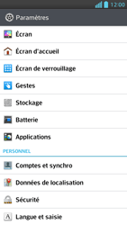 LG Optimus F5 - Applications - Supprimer une application - Étape 4