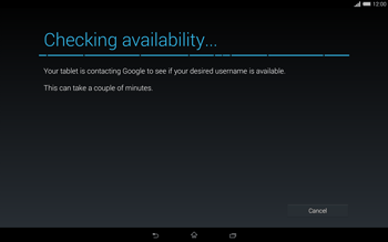 Sony Xperia Tablet Z2 LTE - Applications - Setting up the application store - Step 10