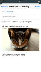 Apple iPhone 6s - e-mail - hoe te versturen - stap 14
