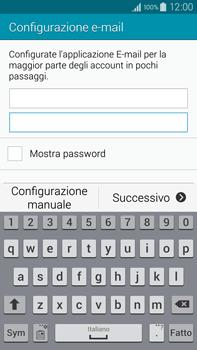 Samsung Galaxy Note 4 - E-mail - configurazione manuale - Fase 6