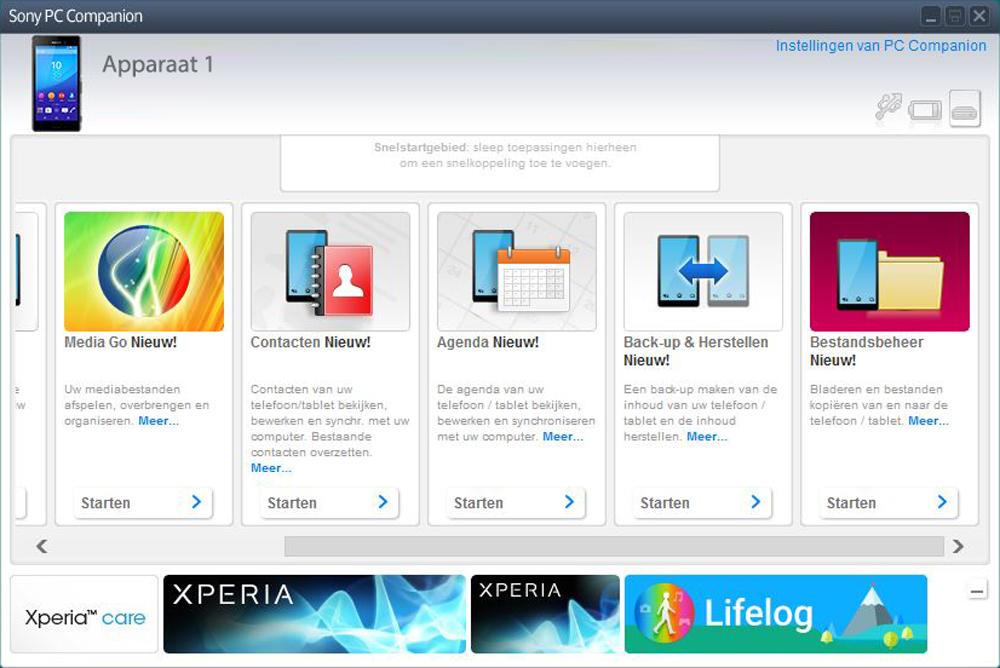 Sony E2303 Xperia M4 Aqua - Software - Backup maken van je toestel - Stap 3