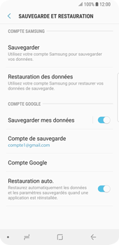 Samsung Galaxy S9 - Aller plus loin - Gérer vos données depuis le portable - Étape 14