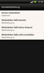 HTC One SV - Anrufe - Rufumleitungen setzen und löschen - 6 / 9