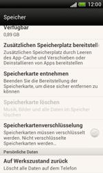HTC Desire X - Fehlerbehebung - Handy zurücksetzen - 7 / 10