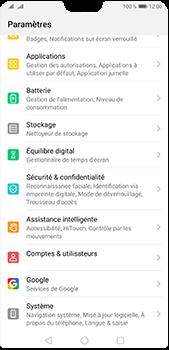 Huawei P20 Pro - Android Pie - Prise en main - Comment ajouter une langue de clavier - Étape 3