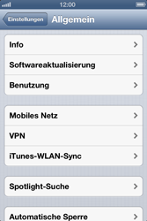 Apple iPhone 4 - Software - Installieren von Software-Updates - Schritt 6