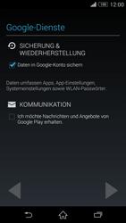Sony D6603 Xperia Z3 - Apps - Konto anlegen und einrichten - Schritt 14