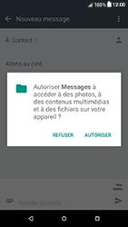 HTC Desire 650 - Contact, Appels, SMS/MMS - Envoyer un MMS - Étape 14