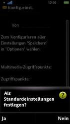 Sony Ericsson U5i Vivaz - MMS - Automatische Konfiguration - Schritt 6