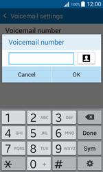 Samsung J100H Galaxy J1 - Voicemail - Manual configuration - Step 9