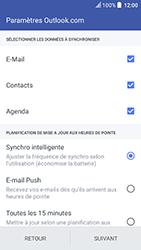 HTC U Play - E-mails - Ajouter ou modifier votre compte Outlook - Étape 8