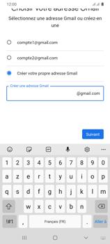 Samsung Galaxy A31 - Applications - Créer un compte - Étape 11