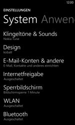 Nokia Lumia 1020 - E-Mail - Manuelle Konfiguration - Schritt 4