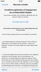 Apple iPhone 7 - Applications - Créer un compte - Étape 10