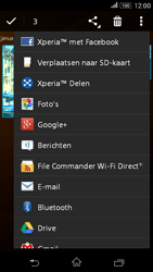 Sony E2003 Xperia E4G - contacten, foto