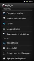 Sony Xperia U - Logiciels - Installation de mises à jour - Étape 5