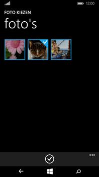 Microsoft Lumia 640 XL - MMS - Afbeeldingen verzenden - Stap 12