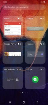 Samsung Galaxy A50 - Applications - Personnaliser l