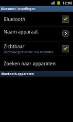 Samsung I9100 Galaxy S II - bluetooth - aanzetten - stap 6