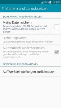 Samsung Galaxy Note 4 - Fehlerbehebung - Handy zurücksetzen - 0 / 0