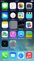 Apple iPhone 5 iOS 7 - Getting started - personalising your Start screen - Step 3