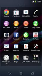 Sony Xperia Z1 - Ausland - Im Ausland surfen – Datenroaming - Schritt 5