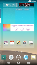 LG G3 - Startanleitung - Installieren von Widgets und Apps auf der Startseite - Schritt 9
